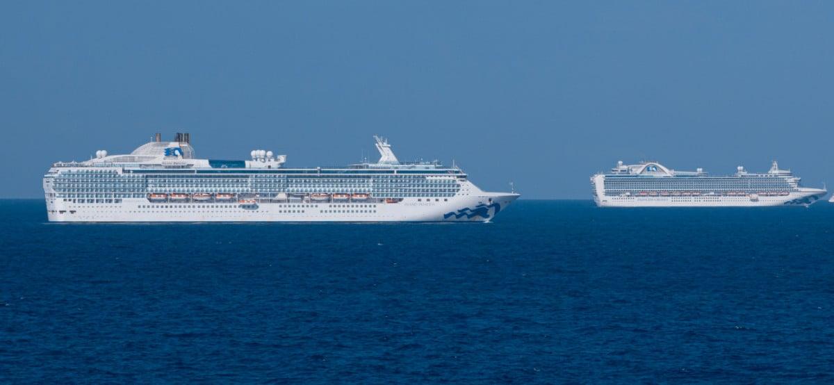 Princess Cruises annule plus de traversées en raison de nouvelles restrictions