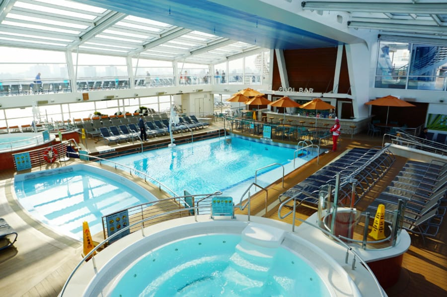 Quantum of the Seas Swimming Pool