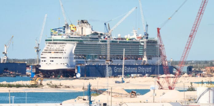 Royal Caribbean Cruise Ship Dry Dock