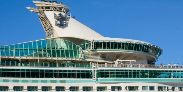 Royal Caribbean Cruise Ship Funnel