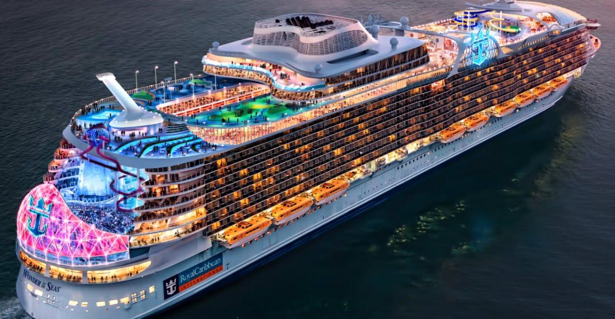 Wonder of the Seas Rendering