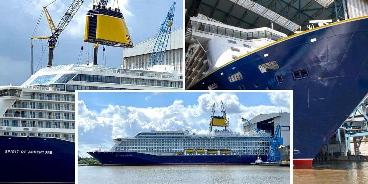 Spirit of Adventure at Meyer Werft