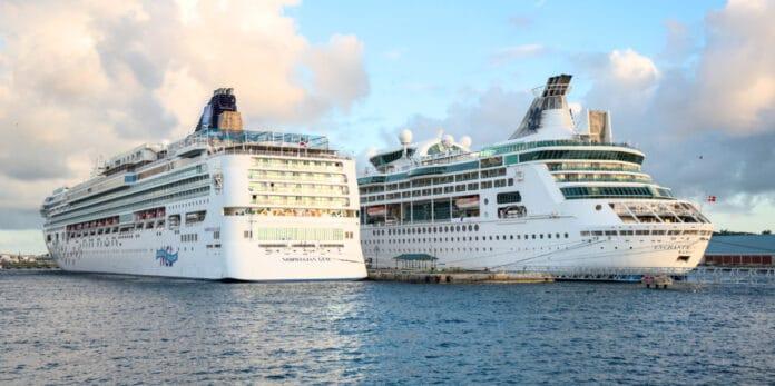Royal Caribbean and NCL Cruise Ships