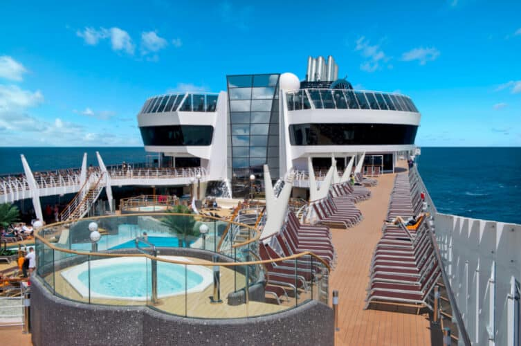 MSC Divina Open Deck