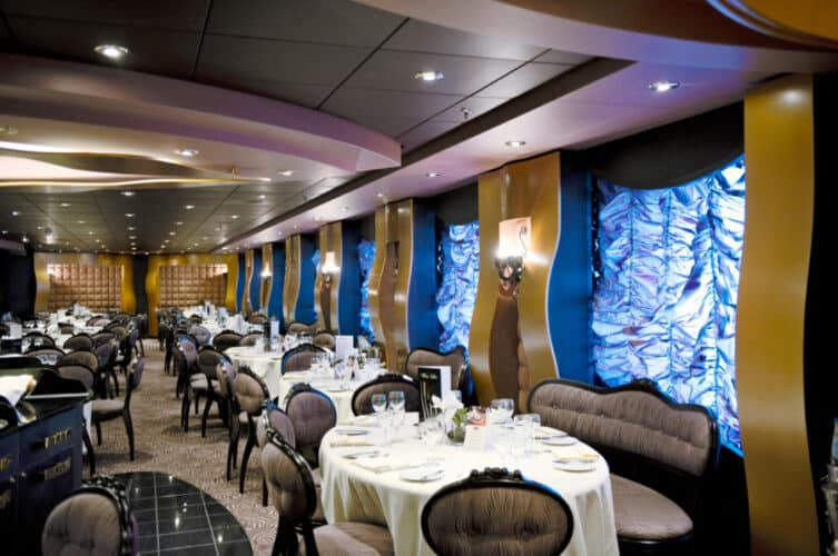 MSC Divina Black Crab Restaurant