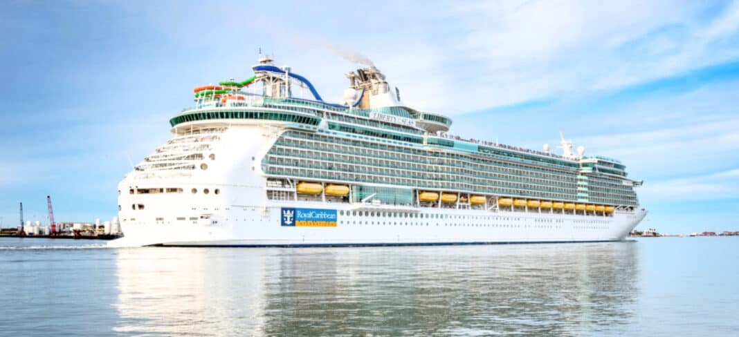 The Royal Caribbean Freedom of the Seas