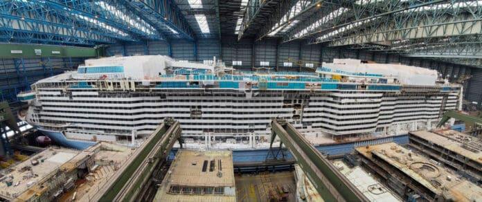 Odyssey of the Seas at Shipyard