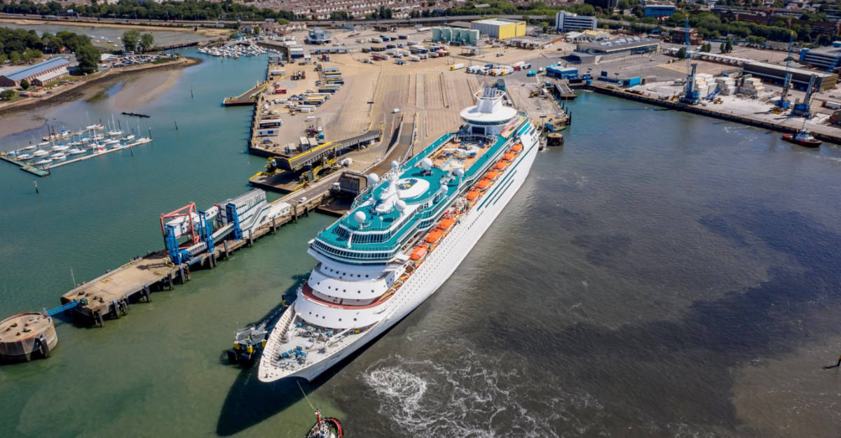 Majesty of the Seas in Portsmouth
