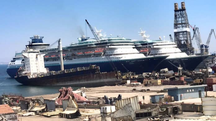 Monarch and Sovereign Cruise Ships Scrapped