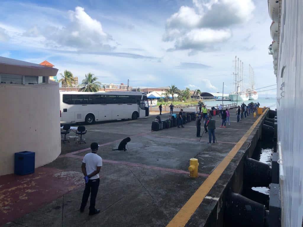 Carnival Cruise Line Repatriation