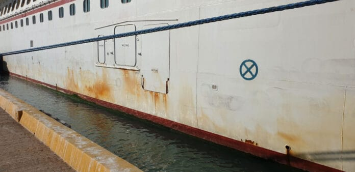 Rusty Cruise Ship