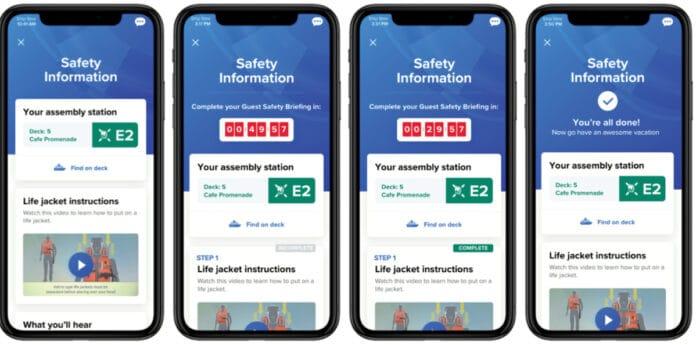 Royal Caribbean Virtual Safety Drill