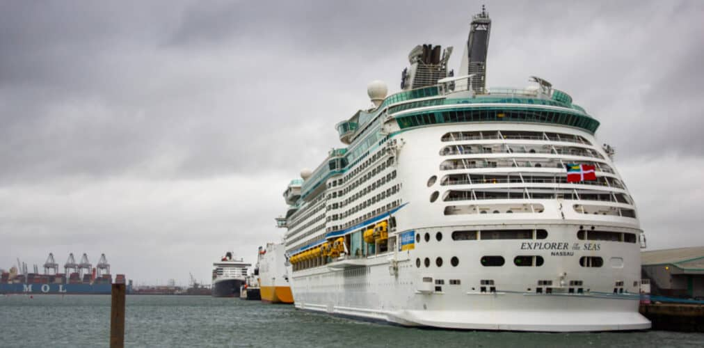 Cruise Ships at Port of Southampton