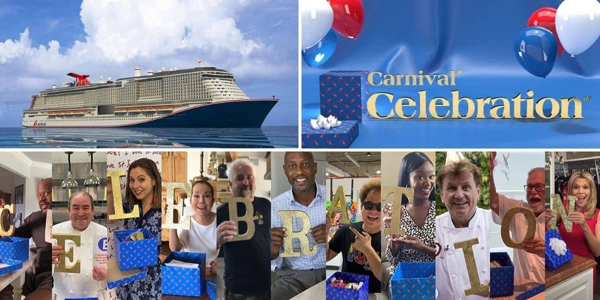 Carnival Celebration Name Reveal