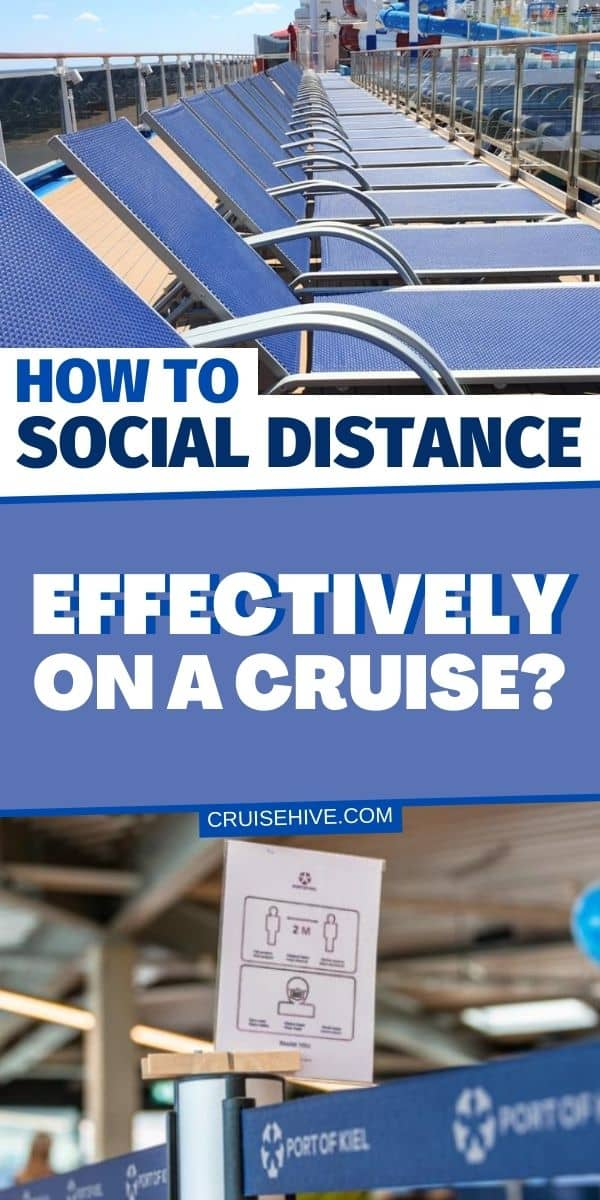 Social Distance on a Cruise