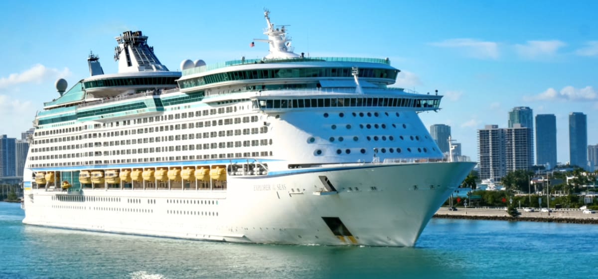 Explorer of the Seas in Maimi