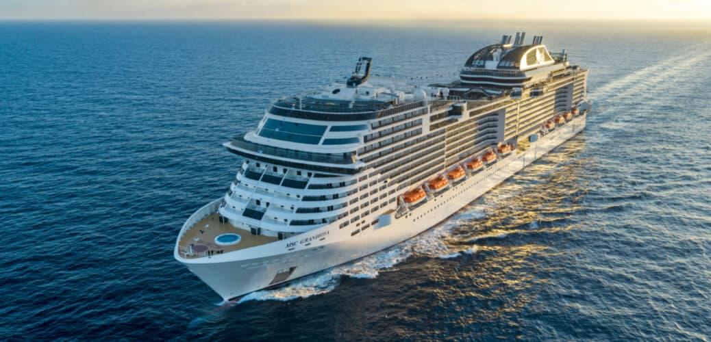 MSC Grandiosa at Sea