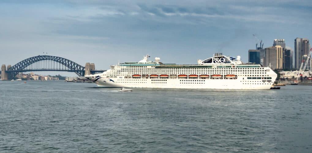 Pacific Explorer Cruise Ship