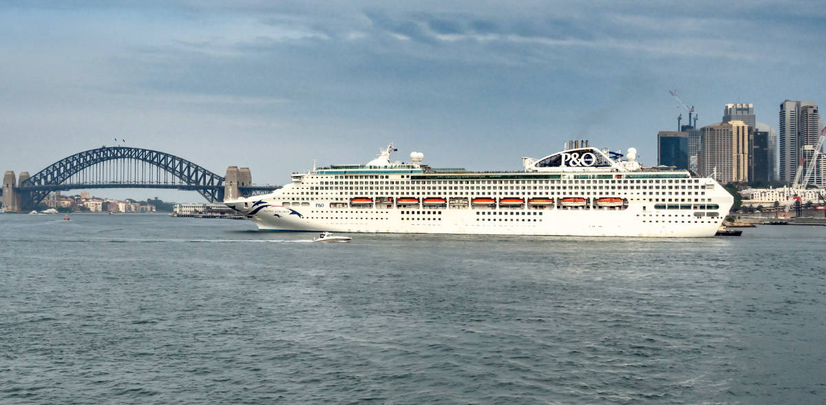 P&O Cruises Extends Suspension on Operations in Australia