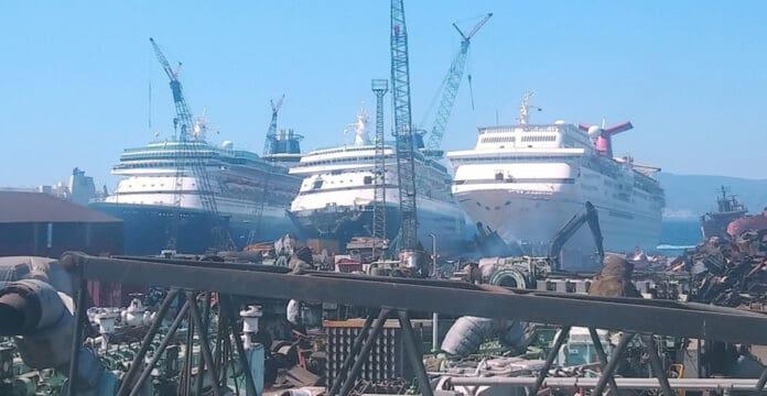 Sovereign Cruise Ship Scrapping