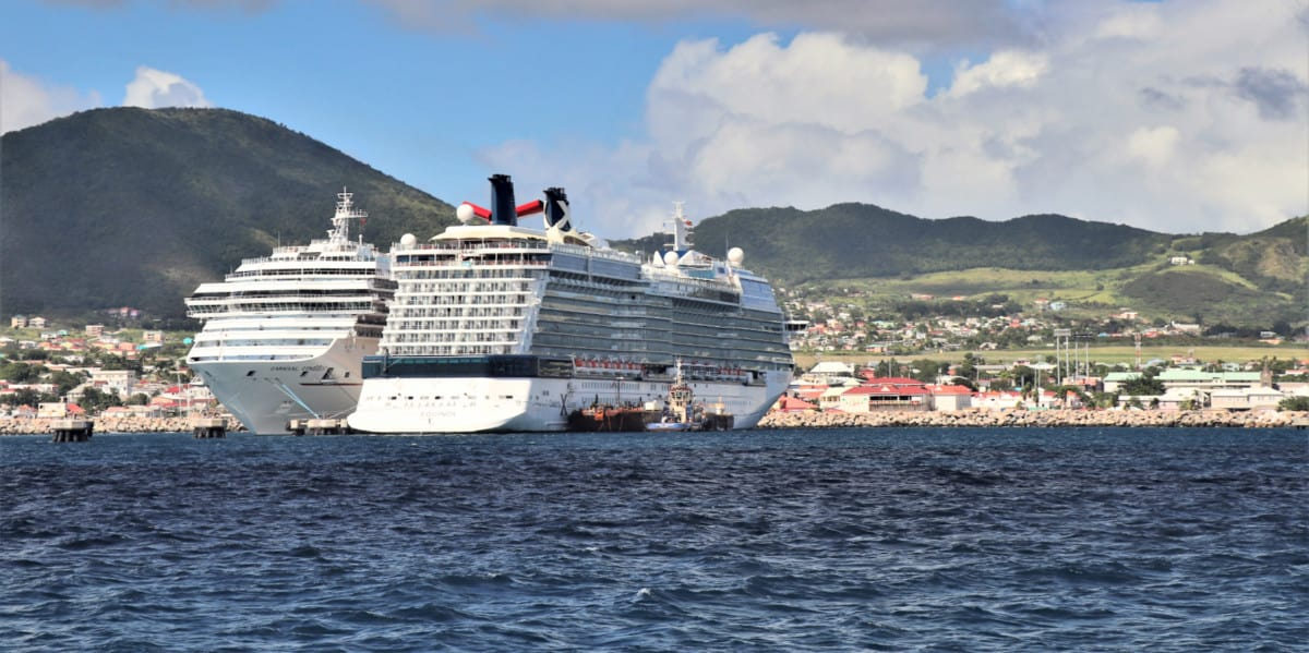 St Kitts Cruise Port