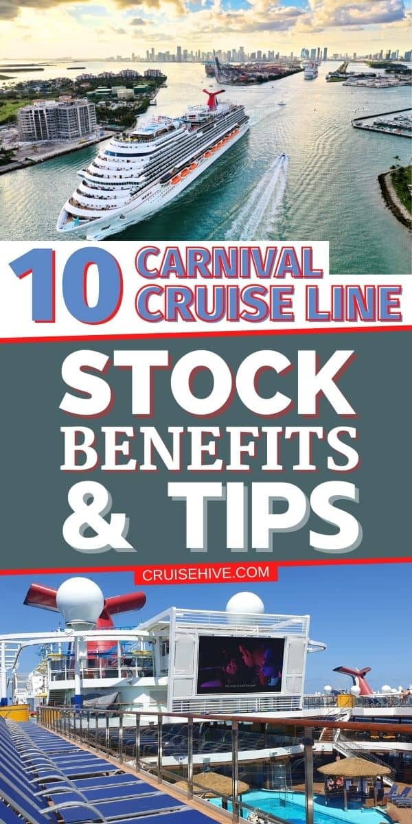 Carnival Cruise Line Stock Benefits
