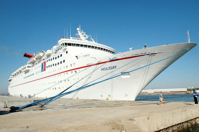 Carnival Holiday Cruise Ship