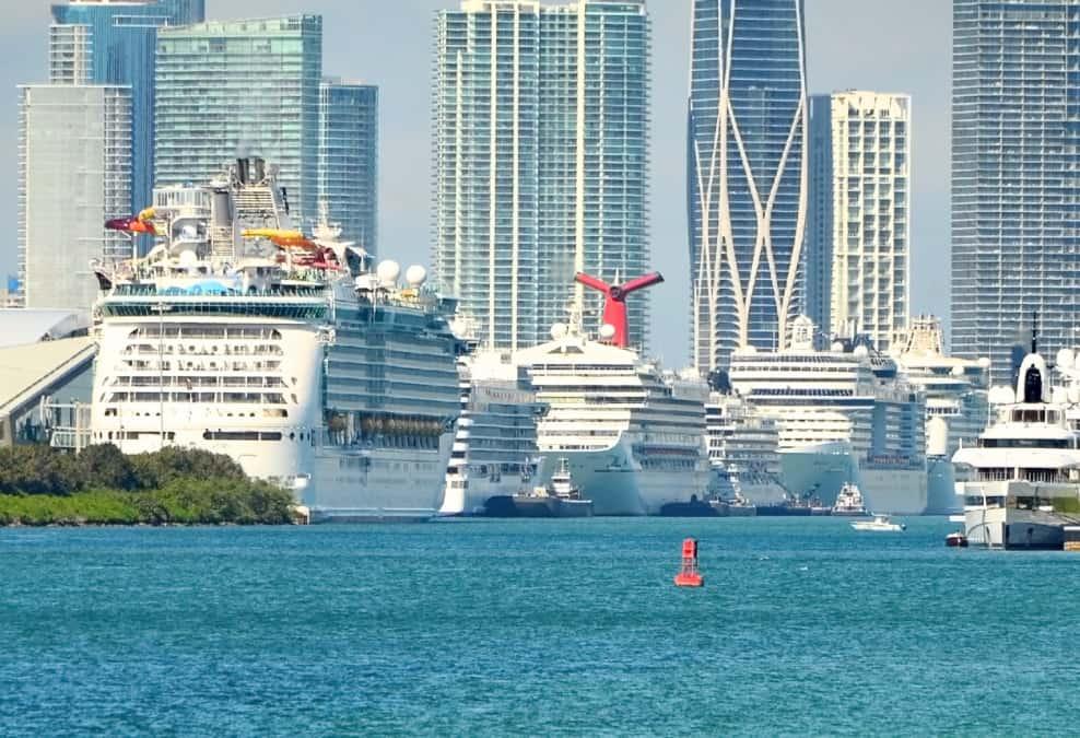Miami Cruise Ships, Florida