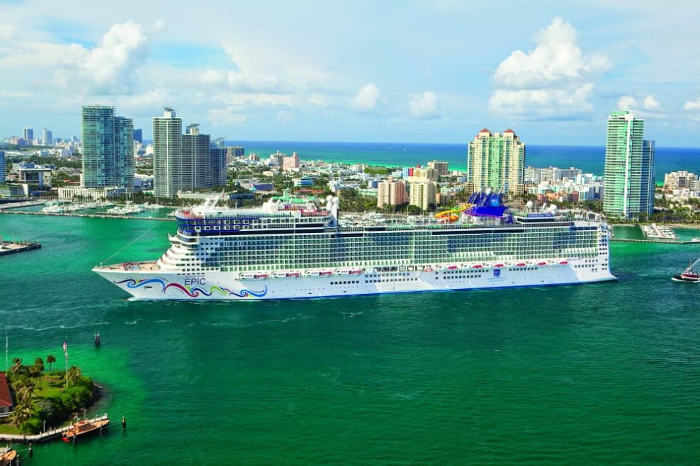 Norwegian Epic in Miami