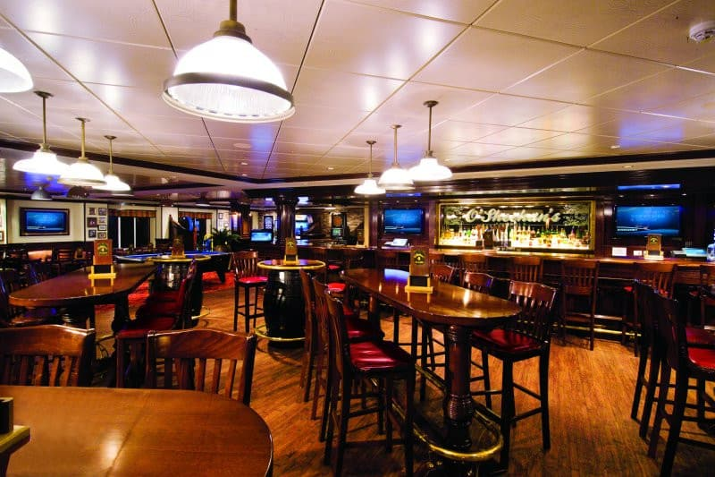 O'Sheehan's Bar on Norwegian Epic