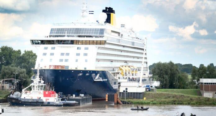 Spirit of Adventure Cruise Ship