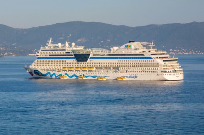 AIDAblu Cruise Ship