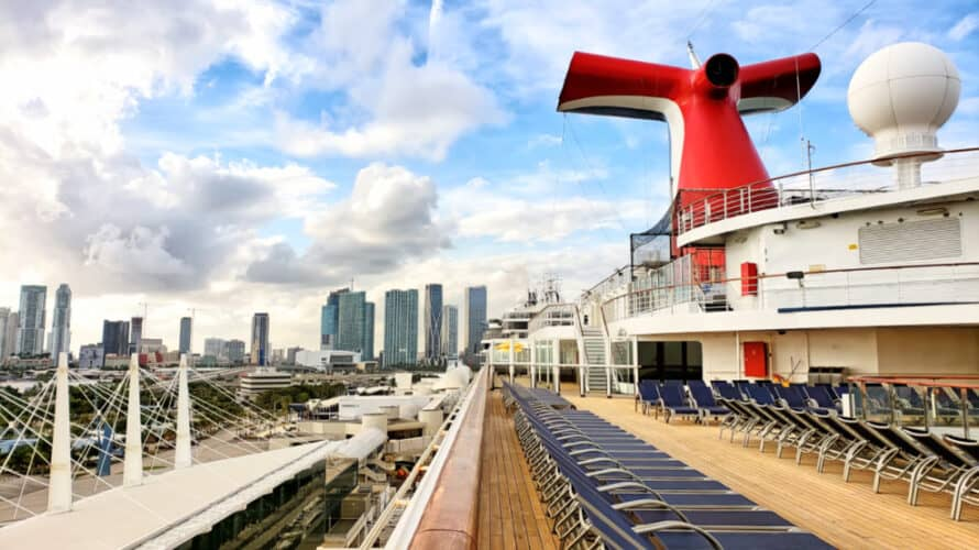 Carnival Cruise Ship in Miami