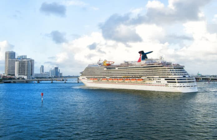 Carnival Breeze in Miami