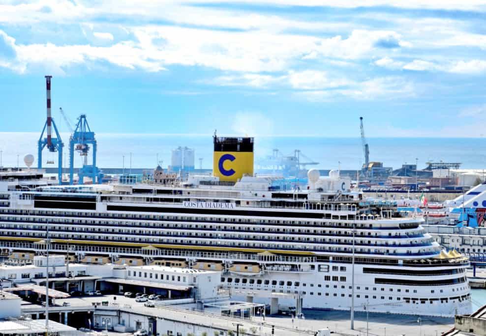 Costa Deliziosa Cruise Ship in Port
