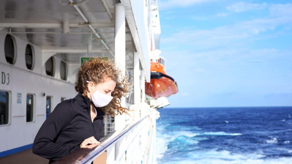 Cruise Ship Illness with Mask