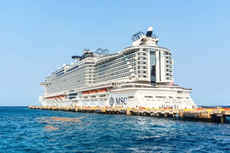 MSC Seaside Cruise Ship