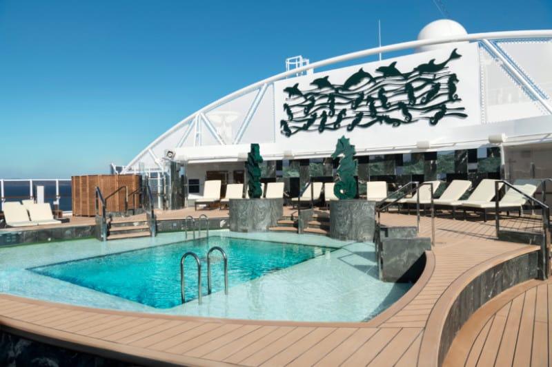 MSC Seaside, MSC Yacht Club Pool