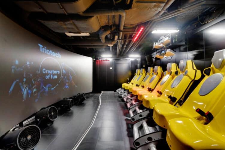 MSC Seaside, Interactive XD Cinema