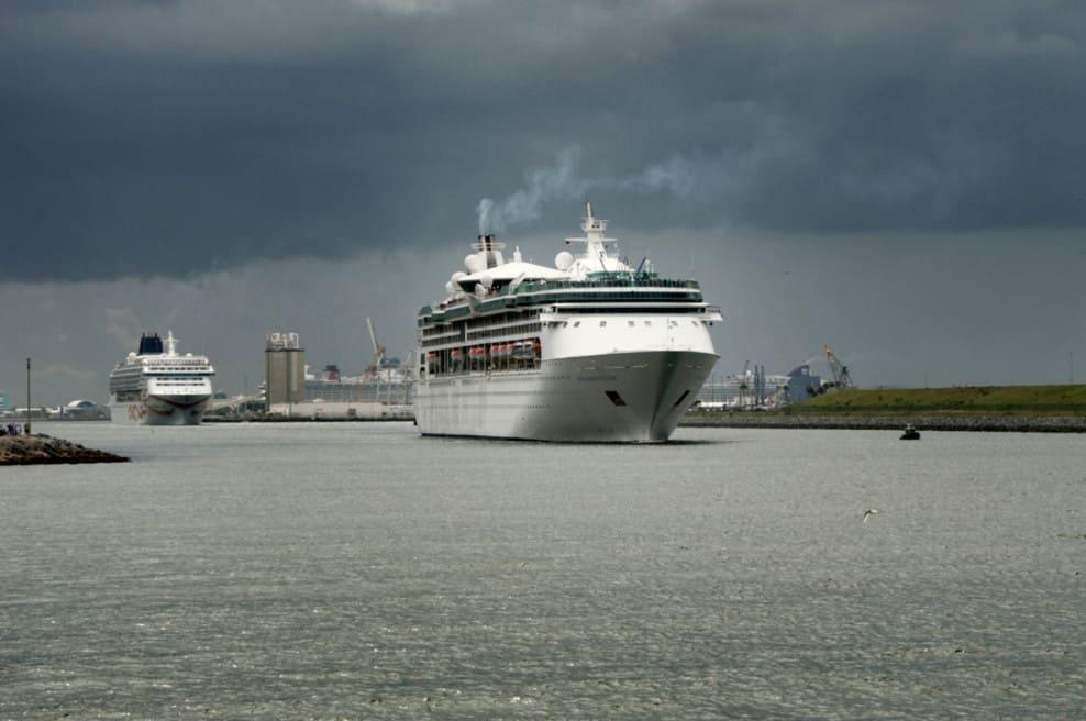 Cruise Ships at Port Canaveral, Florida