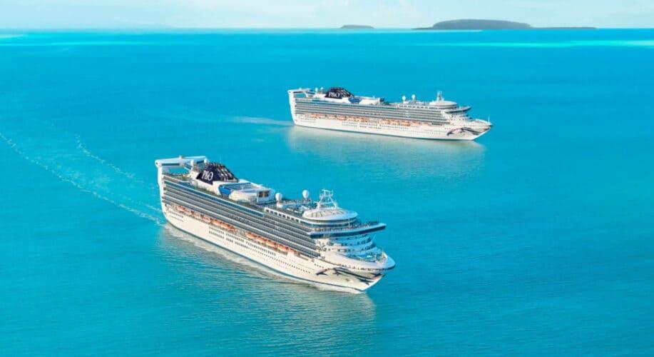 P&O Australia Cruise Ships