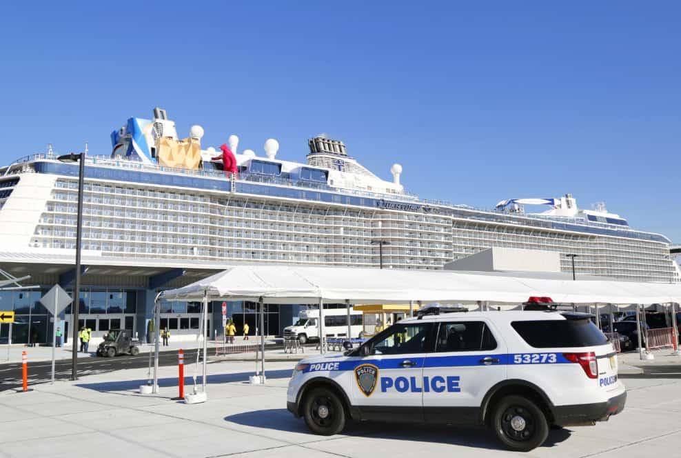 ocked Royal Caribbean Cruise Ship