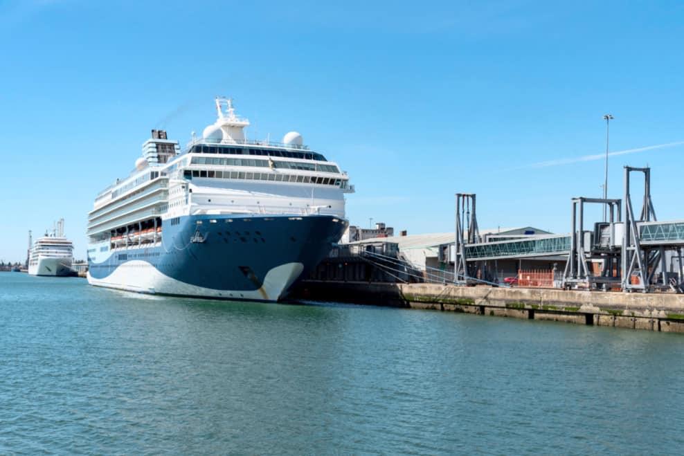 Cruise Ships in Southampton, UK