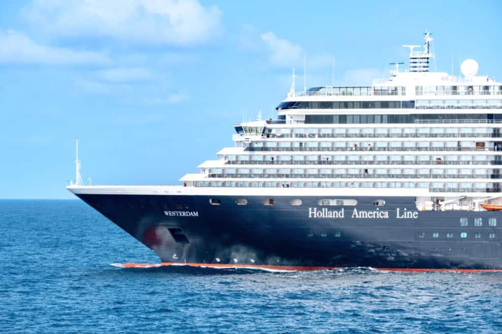 Holland America Cruise Ship