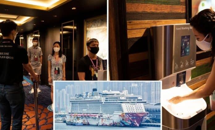 World Dream Cruises to nowhere