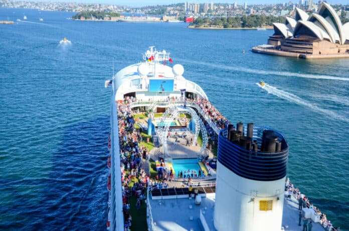 Australia, Sydney Cruise Ship