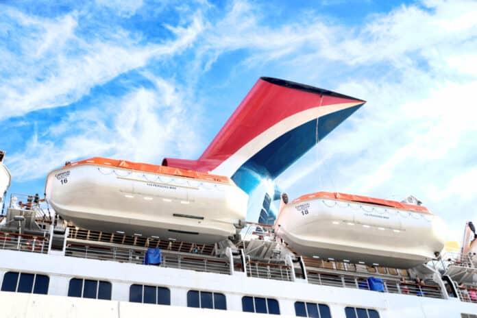 Carnival Cruise Ship Funnel