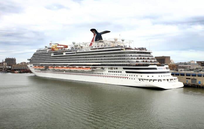Carnival Vista at Port of Galveston