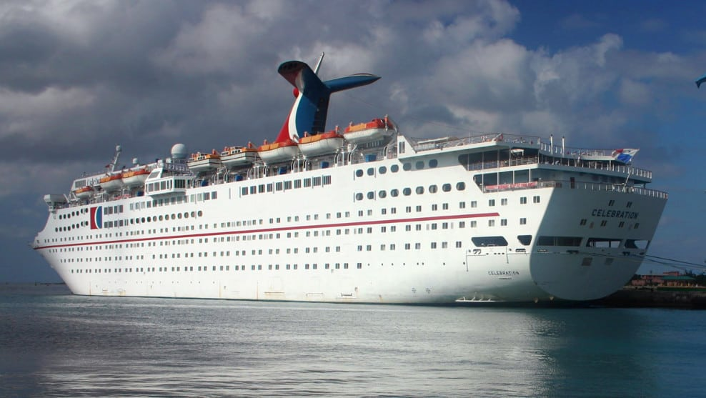 Carnival Celebration Cruise Ship