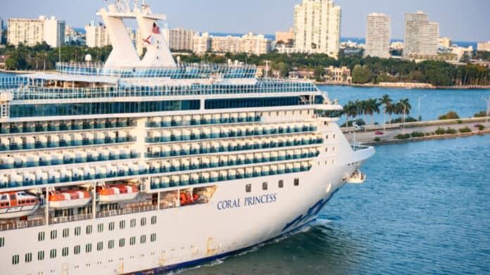 Coral Princess at PortMiami